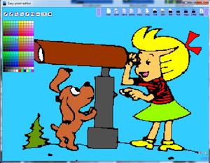 Простой графический редактор Easy Pixel Editor