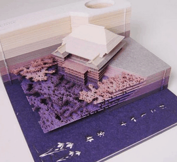 Оригинальный подарок - Omoshiroi-блок из Японии