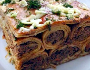 Russian Cuisine: Pancakes with Liver Recipe