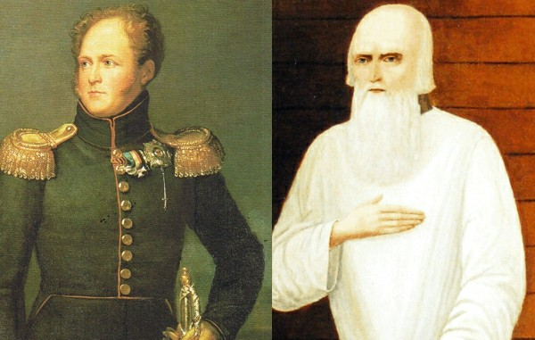 Fyodor Kuzmich and Alexander I