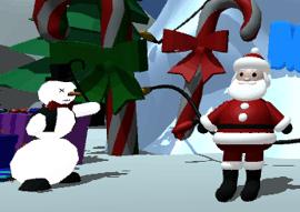 Новогодняя игра на WebGL