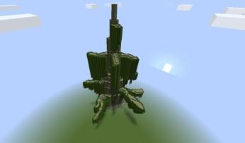 Майнкрафт дерево дом