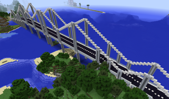 Мост для майнкрафт