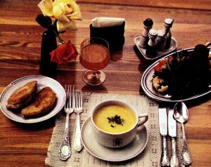 Some Dishes from Latvia: Sigulda and Surprise Salads, Housewife's Soup