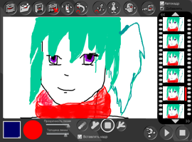 Рисуем мультики онлайн